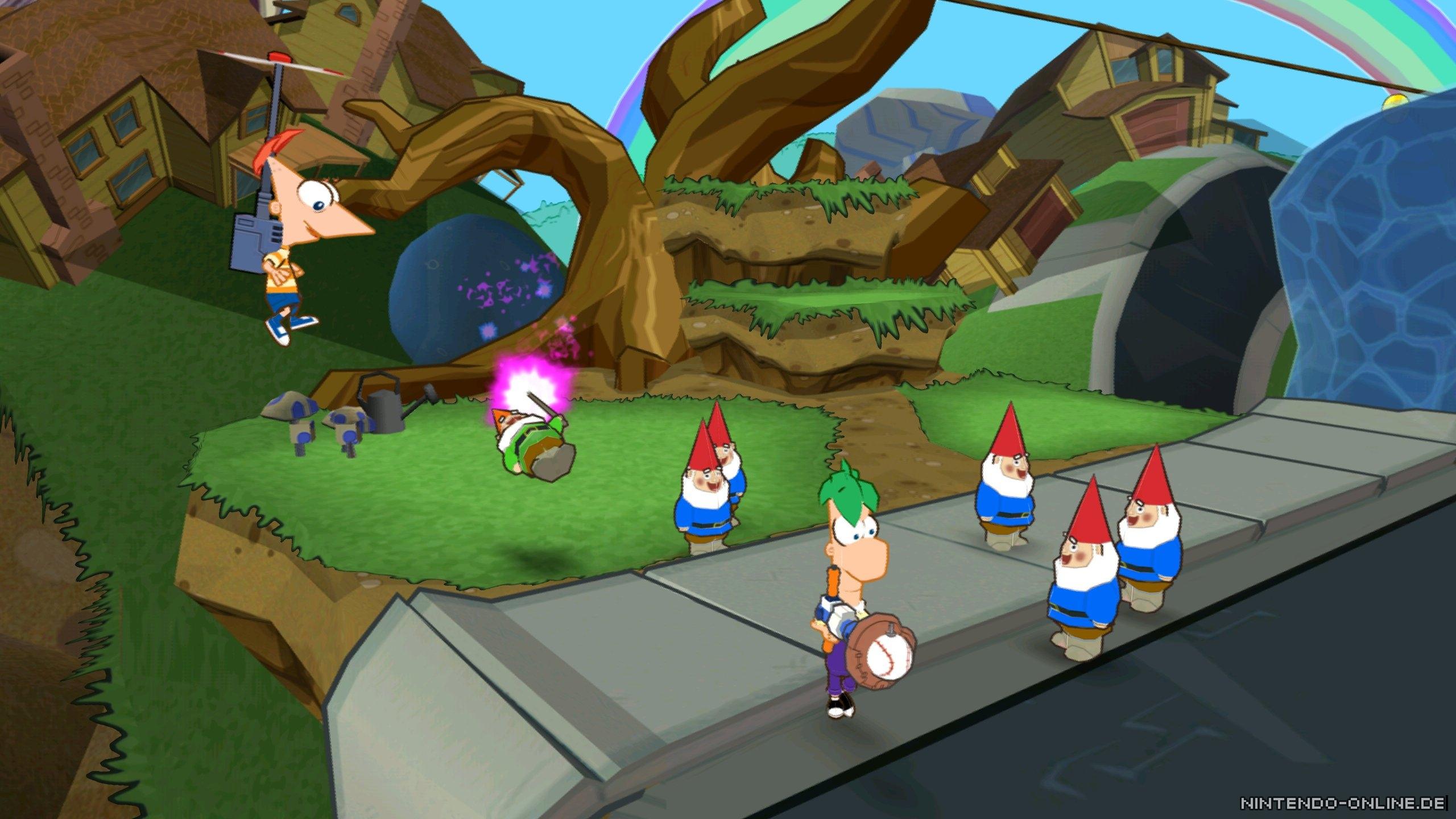 Phineas und Ferb: Quer durch die 2. Dimension Review
