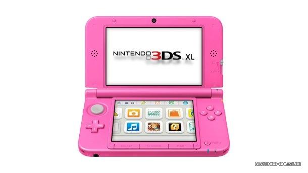 Think Pink! 3DS XL bald in neuer Farbe erhältlich - Nintendo-Online.de