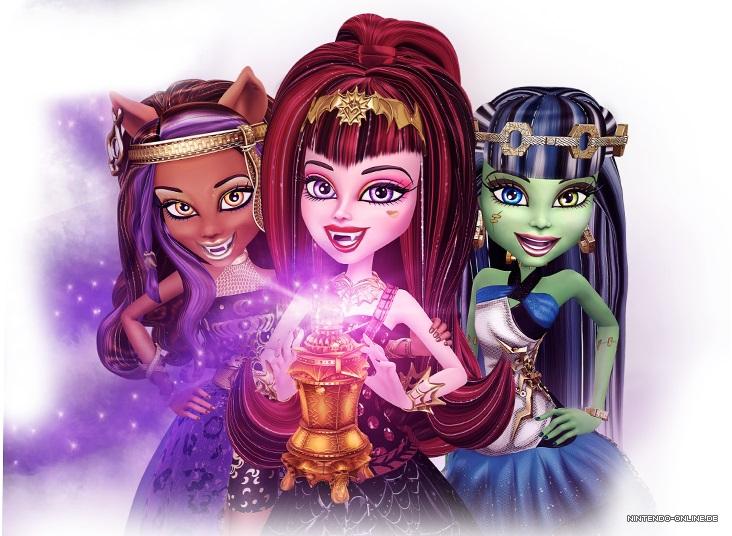 Monster High: 13 Wünsche Review - Nintendo-Online.de