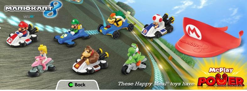 Die Mario Kart 8 Figuren Von Mcdonalds Im Video Nintendo Onlinede