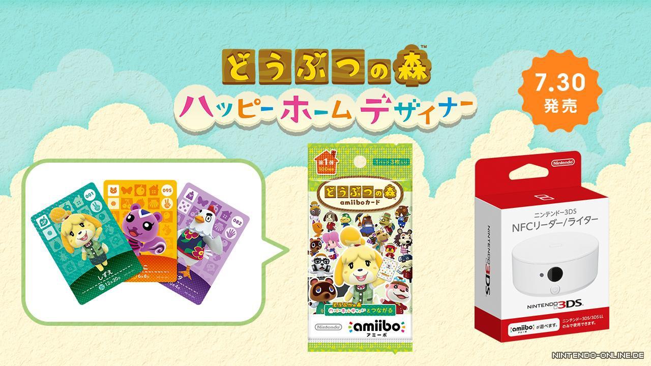 Japan Animal Crossing Happy Home Designer Bundles und Release ...