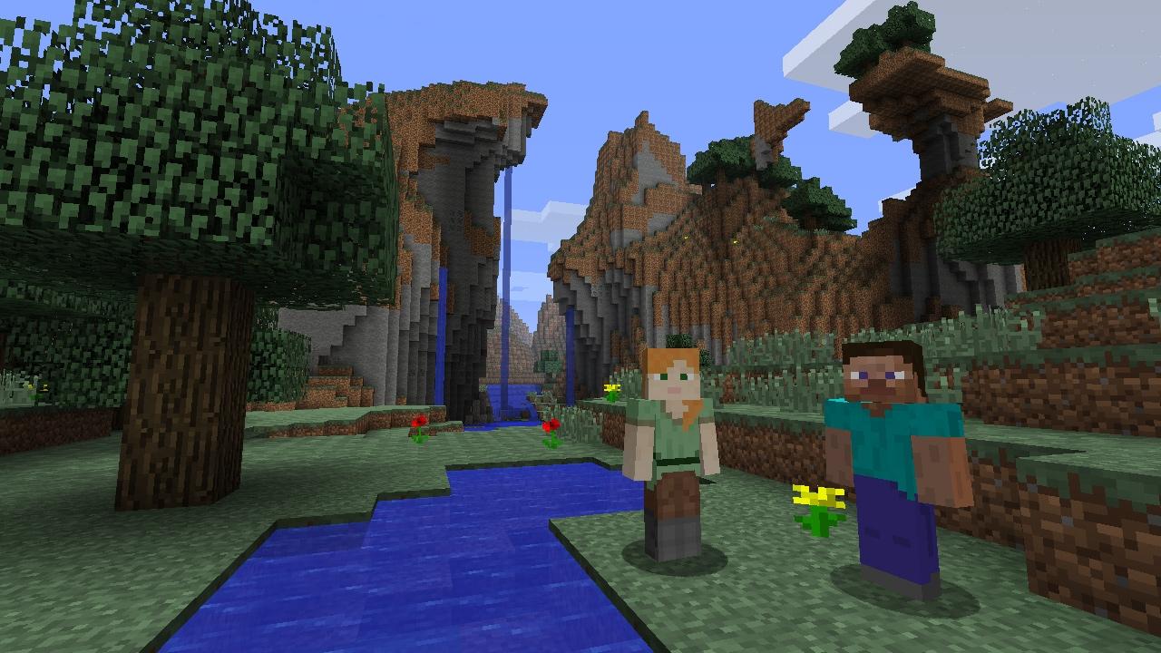 Minecraft Wii U Edition Ohne Inventar Per Touchscreen Dafür - Minecraft online spielen wii u