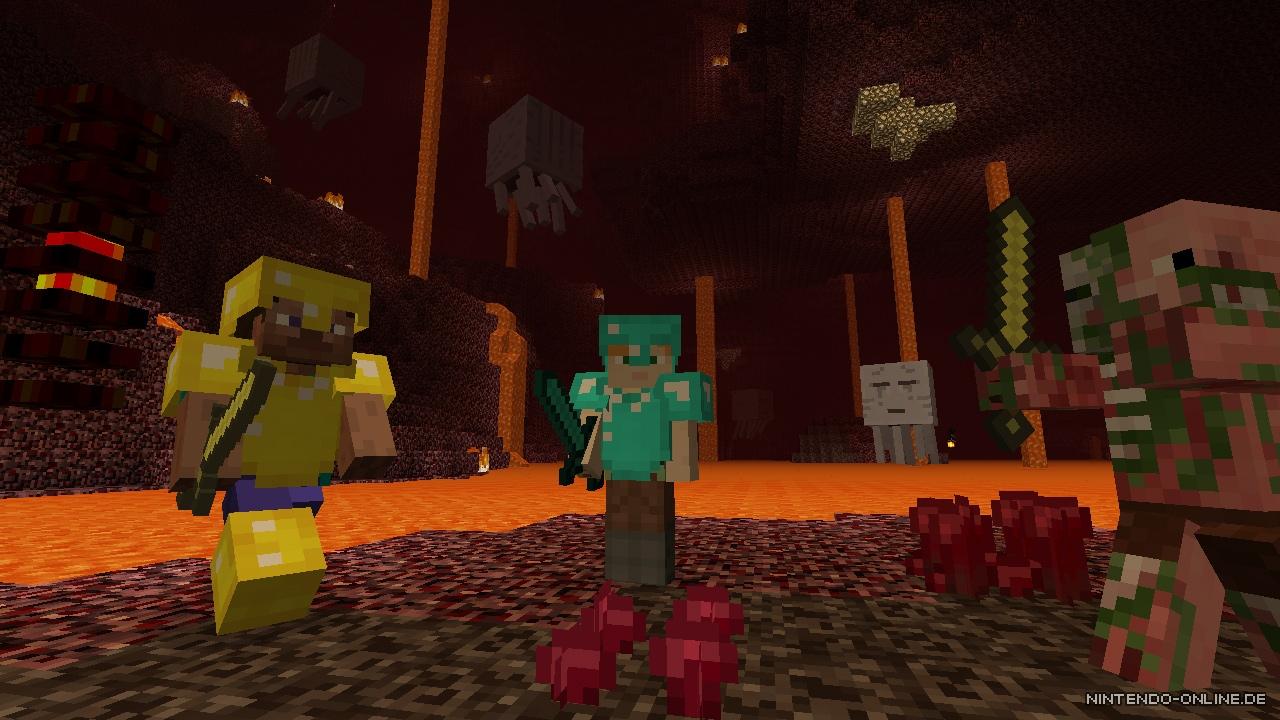 Minecraft Wii U Edition Erhält Demnächst Ein Weiteres Kartenpaket - Minecraft online spielen wii u