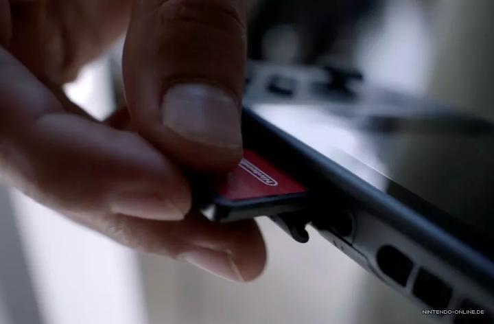 Switch Sd Karte Einlegen.Keine Discs Nintendo Switch Spiele Kommen Auf Modulen Nintendo