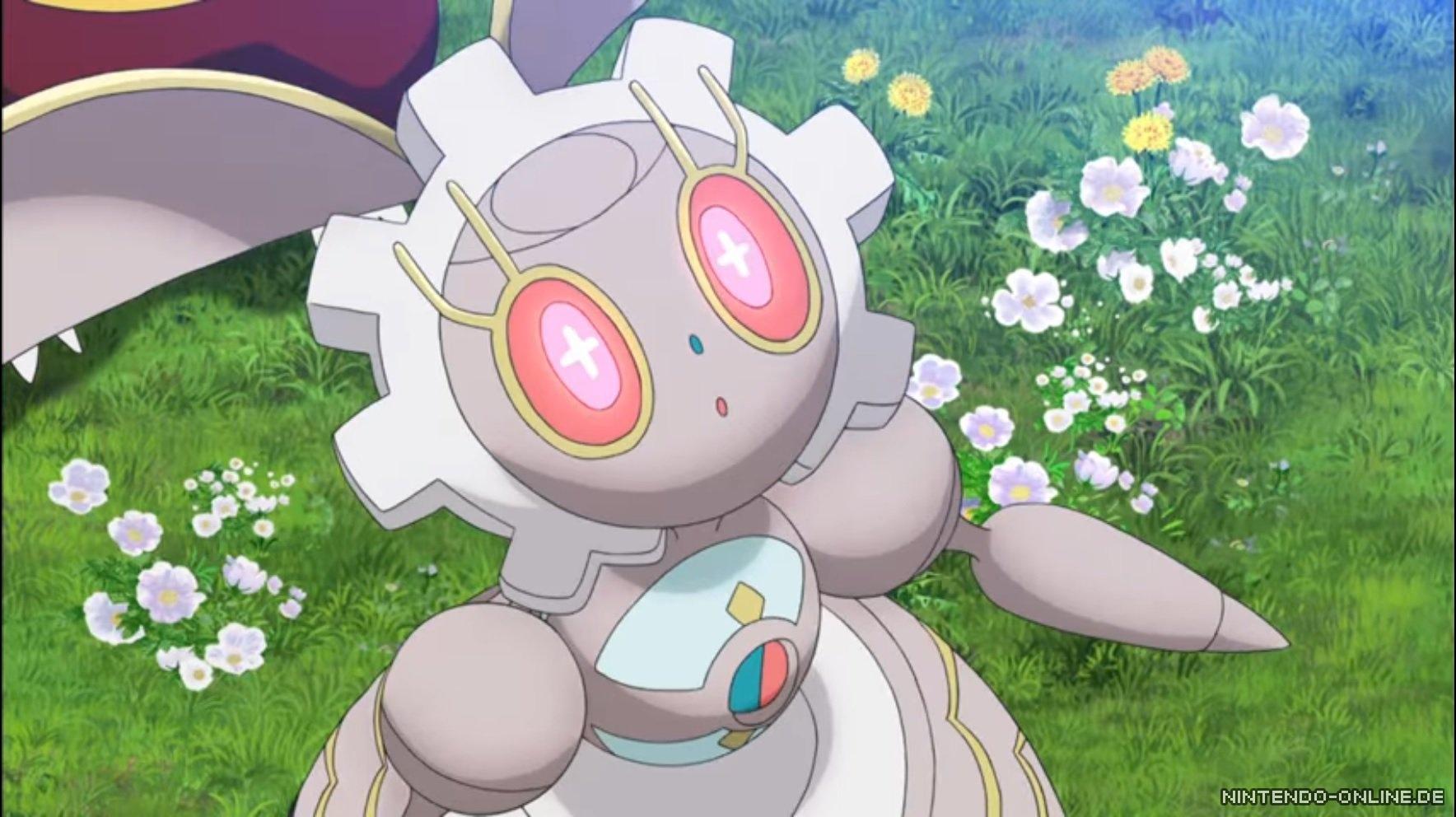 mysteriöses pokémon magearna nun für pokémon sonne  mond