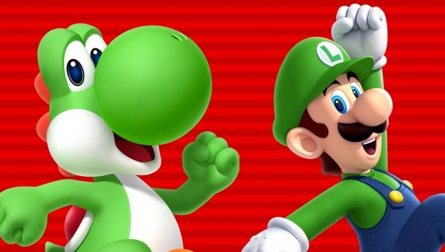 luigi toad und yoshi sind spielbare charaktere in super