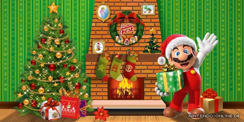 Weihnachtsgrüße In Die Ferne.Weihnachtsgrüße Von Satoru Shibata Nintendo Online De