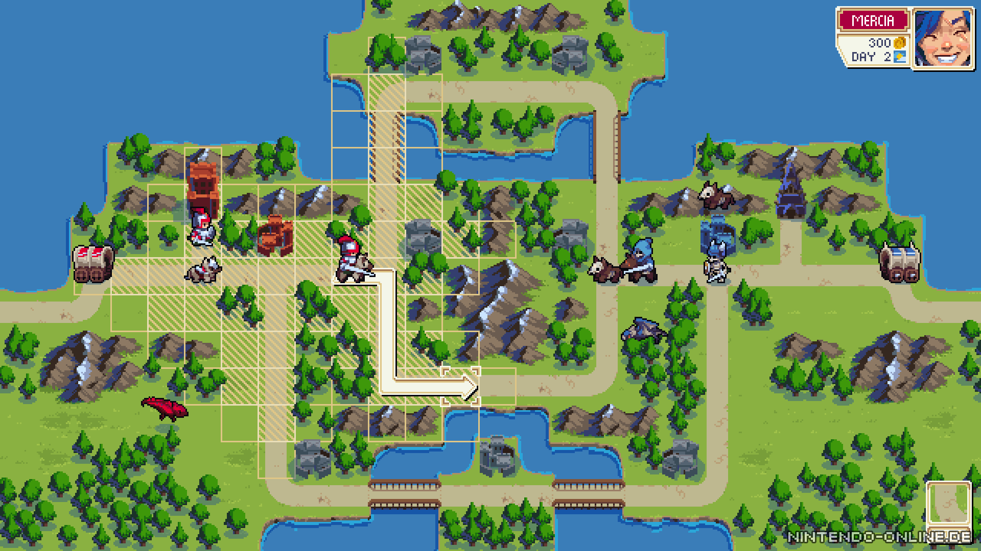 WarGroove: Der Entwickler zeigt den Map-Editor - Nintendo-Online.de