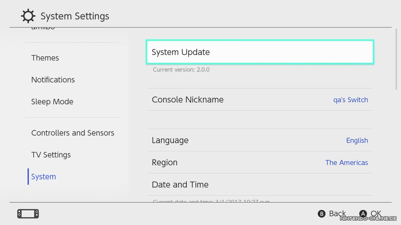 Switch: Update 3.0.0 sucht Controller, lässt Wii U- und 3DS-Freunde ...