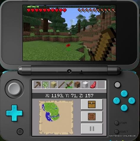 Minecraft New Nintendo DS Edition Ist Ab Heute Erhältlich - Minecraft auf zwei pc spielen