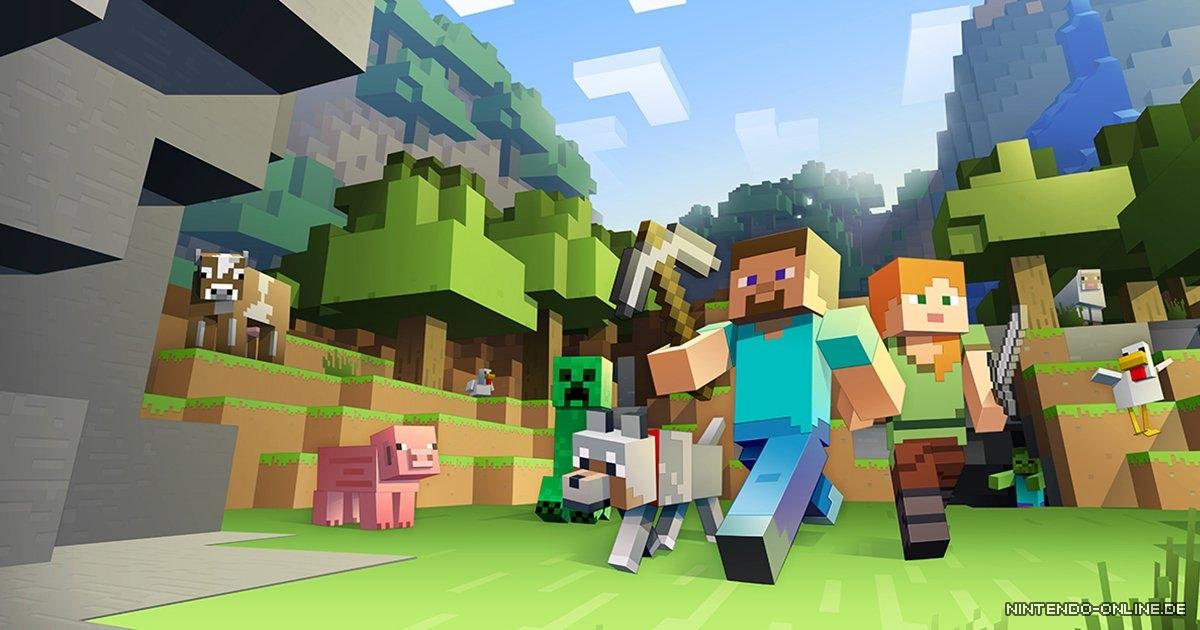 Europa Das Sind Die Meistheruntergeladenen Nintendo Switch - Minecraft spiele fur nintendo