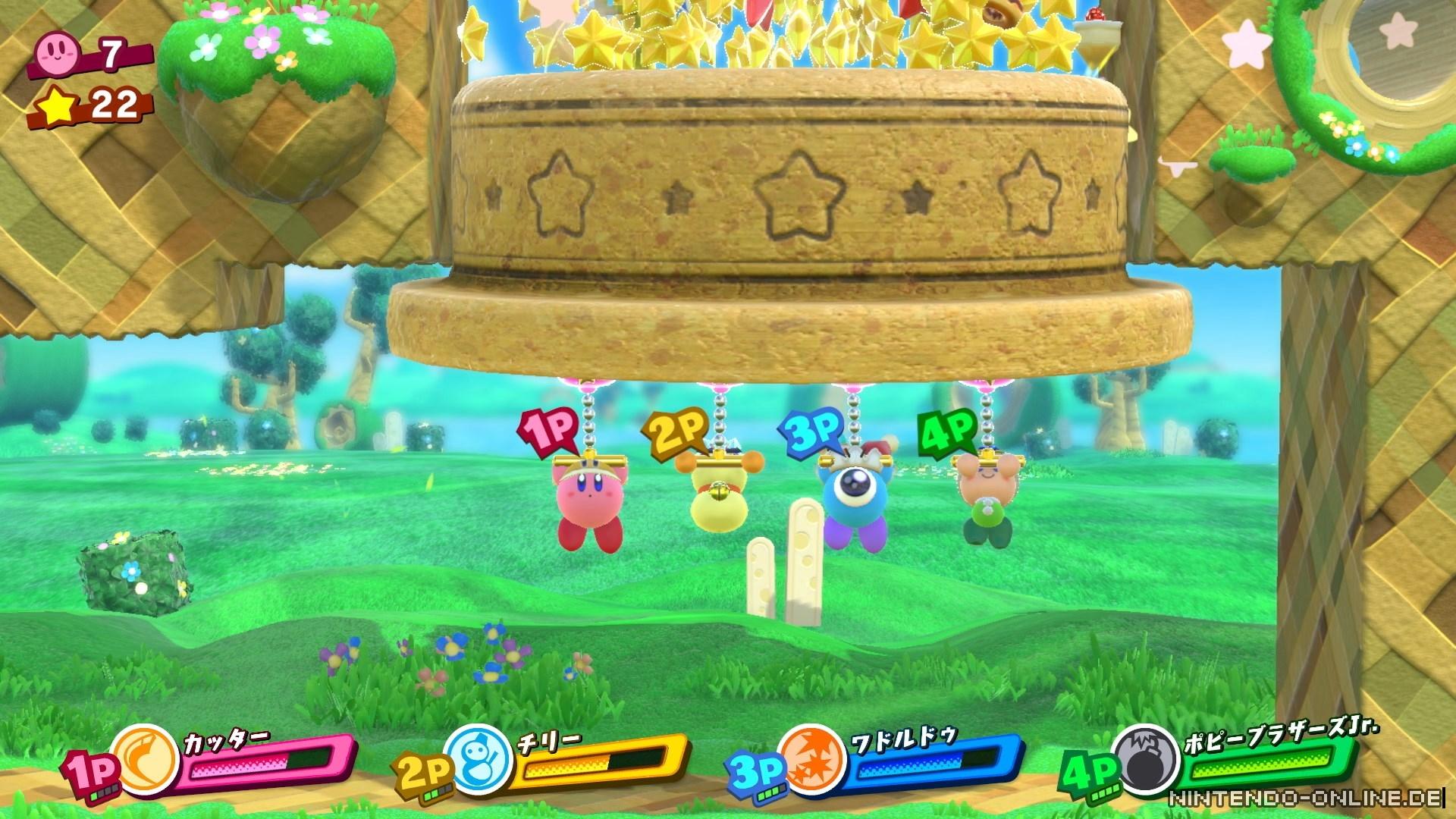 Kirby Star Allies besitzt größtenteils eine Bildrate von 30 FPS ...