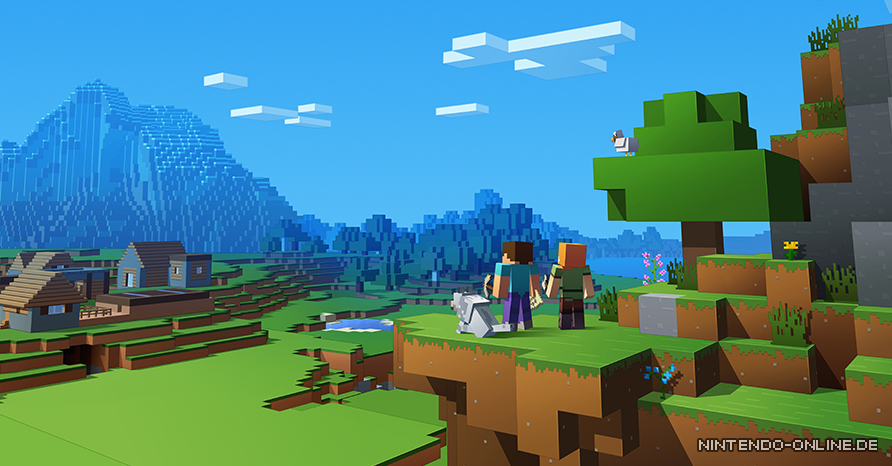 Minecraft Besser GemeinsamTrailer Führt Die CrossPlayFunktion - Minecraft gemeinsam spielen
