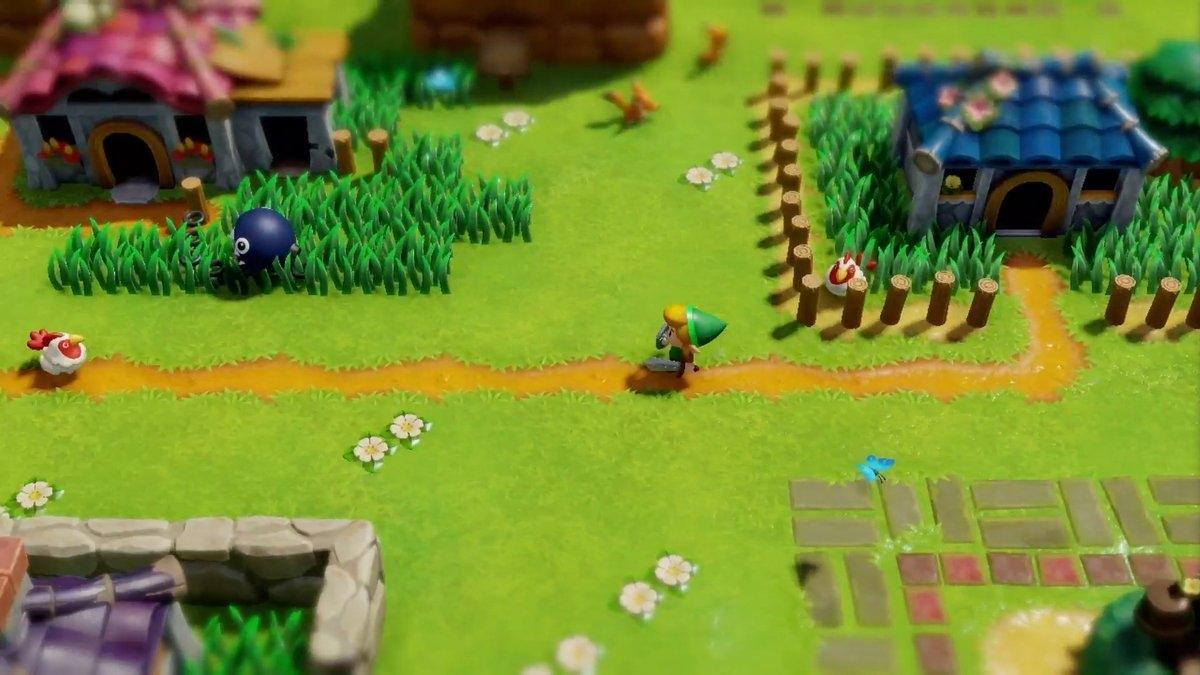 Remake Von The Legend Of Zelda Links Awakening Erstrahlt Auf