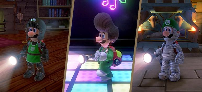 Luigi's Mansion 3: Erstes DLC-Paket Ist Bereits Jetzt Verfügbar