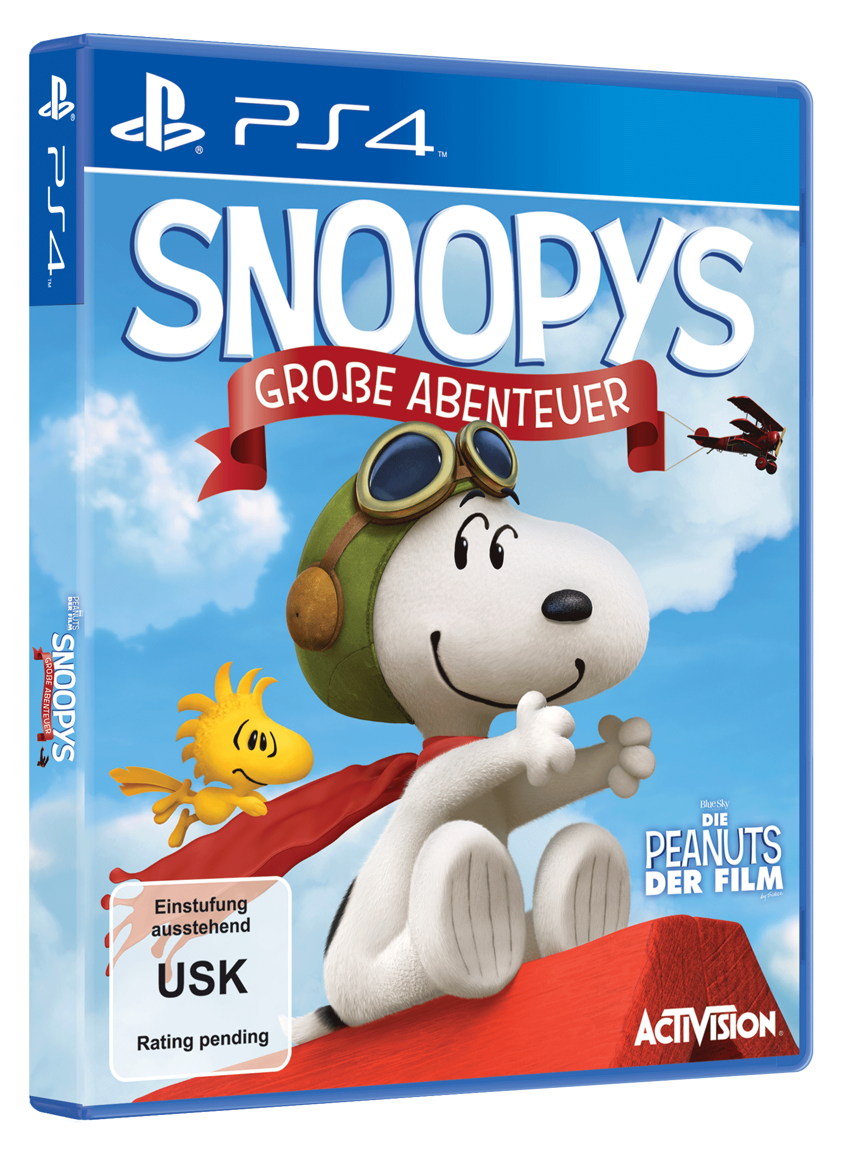 die peanuts der film snoopys gro e abenteuer ps. Black Bedroom Furniture Sets. Home Design Ideas